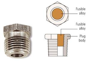 structure of fusible plugs